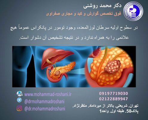 محمد روشنی 18 495x400 - پانکراتیت چیست؟ التهاب پانکراس چه علائمی دارد؟